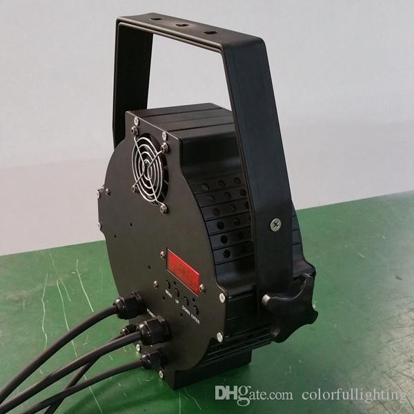 무료 배송 54X3W 주조 알루미늄 고출력 슬림 LED 파 깡통 RGB 3in1 트라이 컬러 슬림 파 64