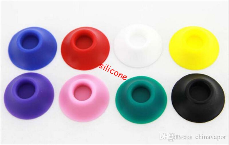 ego battery Atomizer base electronic cigarette silicone eGo sucker holder stand vape shop evod e cig silicone sucker display stand