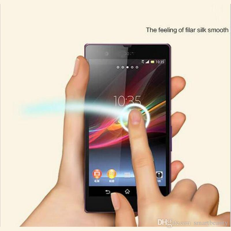 Explosion proof LCD Clear Tempered Glass Transparent Ultra thin Screen Protector Film For SONY M4 M2 M