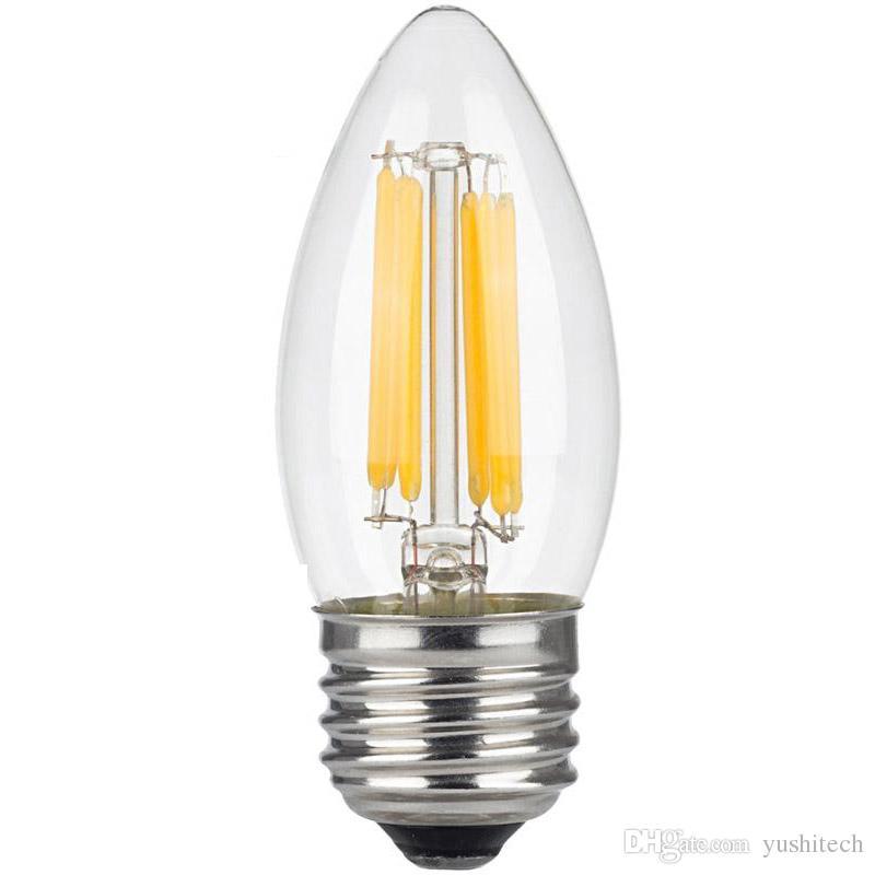 Acheter Bougie à Filament Led Edison à Intensité Réglable De 6 Watts