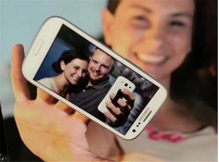 Impugnatura con impugnatura cellulare Impugnatura elastica adesiva impugnatura iphone samsung scheda ipad multicolor