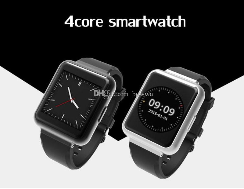 "Smart Watch K8 update version Q1 1.54"" Display Android 5.1 WiFi GPS 3G Bluetooth Smartwatch 512MB + 4GB Support NANO Sim Card Clock Phone"