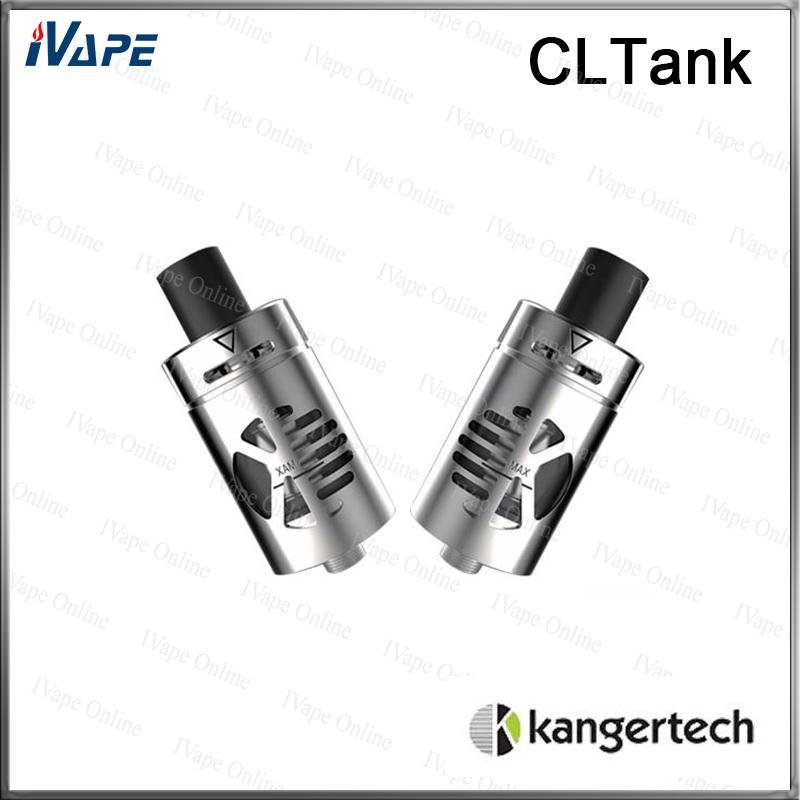100% originale Kanger CLTank CLTank Atomizzatore 2 ML 4 ML Top Filling Sistema di blocco bambino Atomizzatore Con bobina CLOCC 0.5ohm 0.15ohm