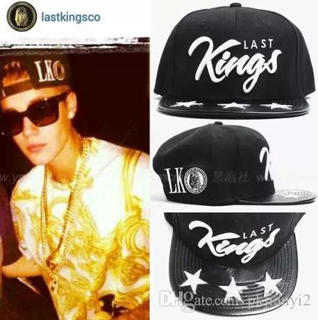 Compre Justin Bieber Tyga Last Kings Pharaohs Mismo Párrafo Pentagram Gorra  De Béisbol Plana Brimmed Sombreros Hip Hop Cap A  108.55 Del Pkjianyi2  f7a4ec30bd7