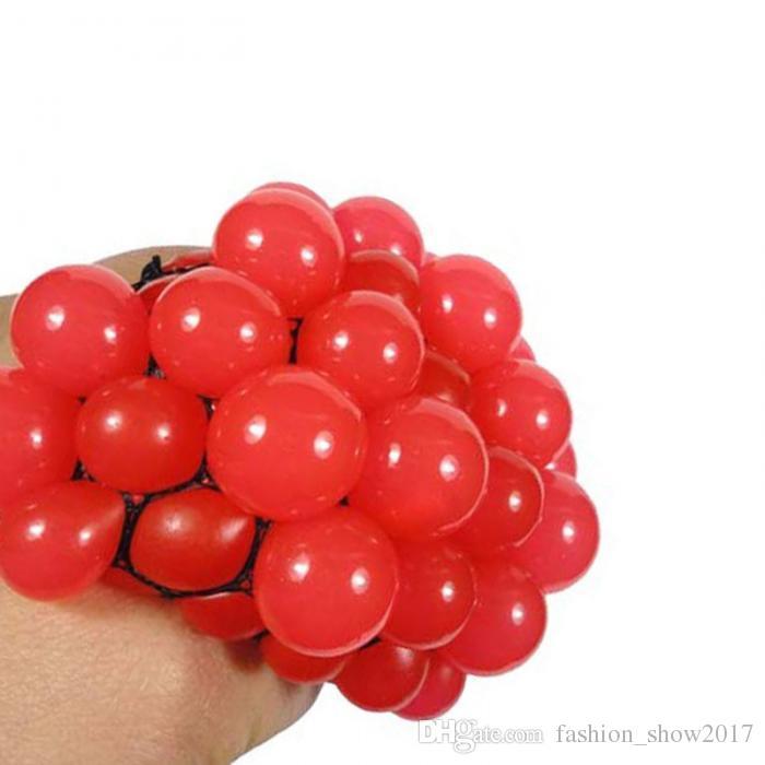 Lustige Spielzeug Antistress Gesicht Reliever Traube Ball Autismus Stimmung Squeeze Relief Gesunde Spielzeug Lustige Geek Gadget für Halloween Witze