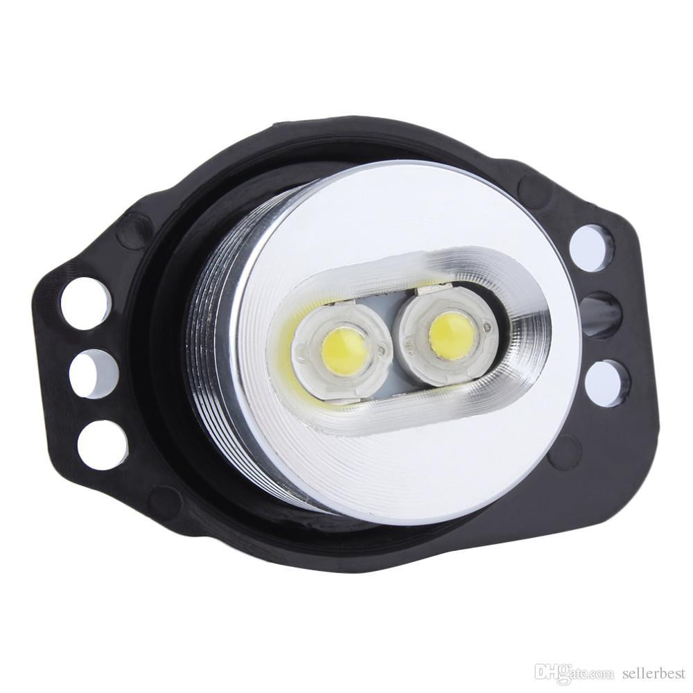 E90 E91 10W 3 серии 325i 328i 325xi 328xi 330i 06-08 отличное качество ксенон белый светодиодные глаза ангела Halo лампочка без ошибок