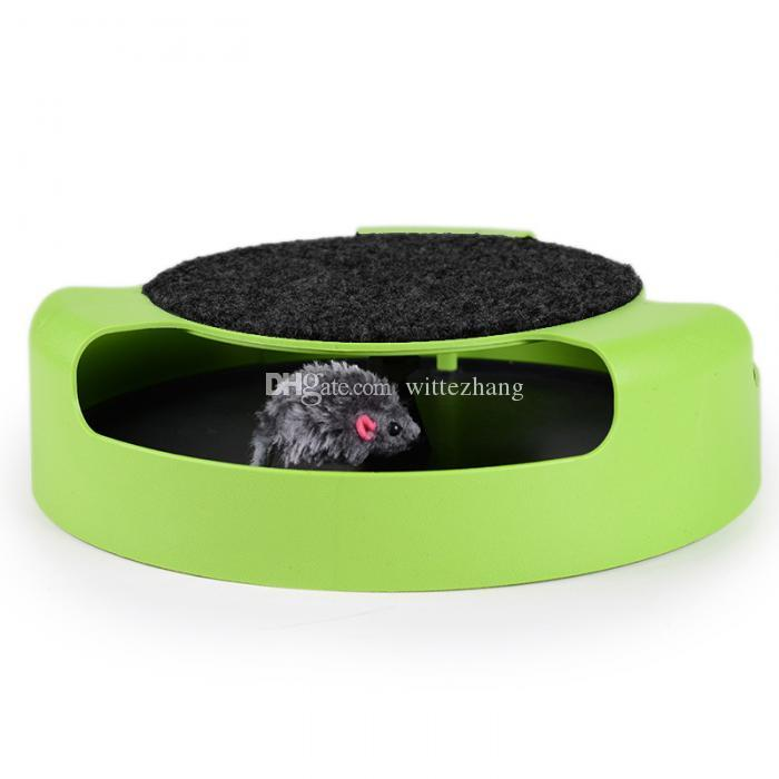 Cat Toy Pets Products Kitten Toys with Moving Mouse Inside Roped Funny Faux Mouse Play Toys gatos For Kids & Cat TB Sale