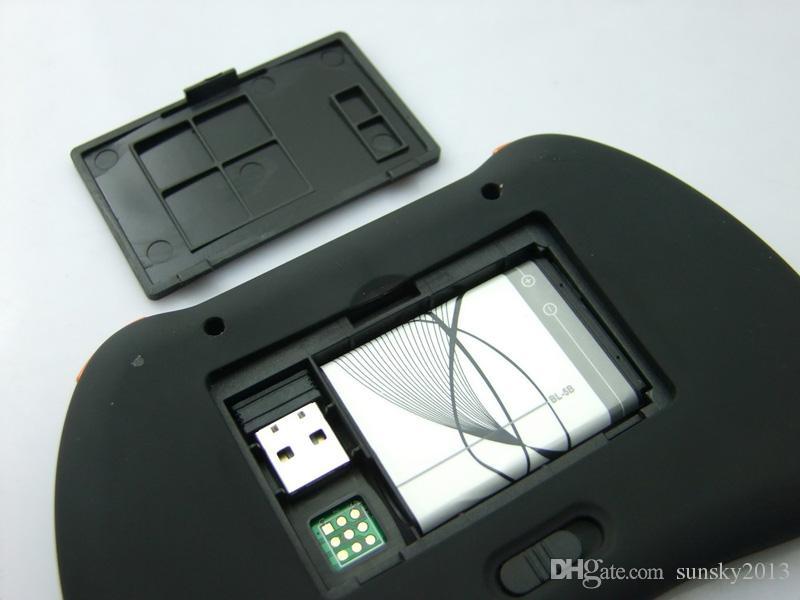 H9 무선 미니 키보드 VS Rii i8 무선 PC 키보드 플라이 에어 마우스 S905X X96 TV 박스 핸드 헬드 멀티미디어 원격 제어 터치 패드