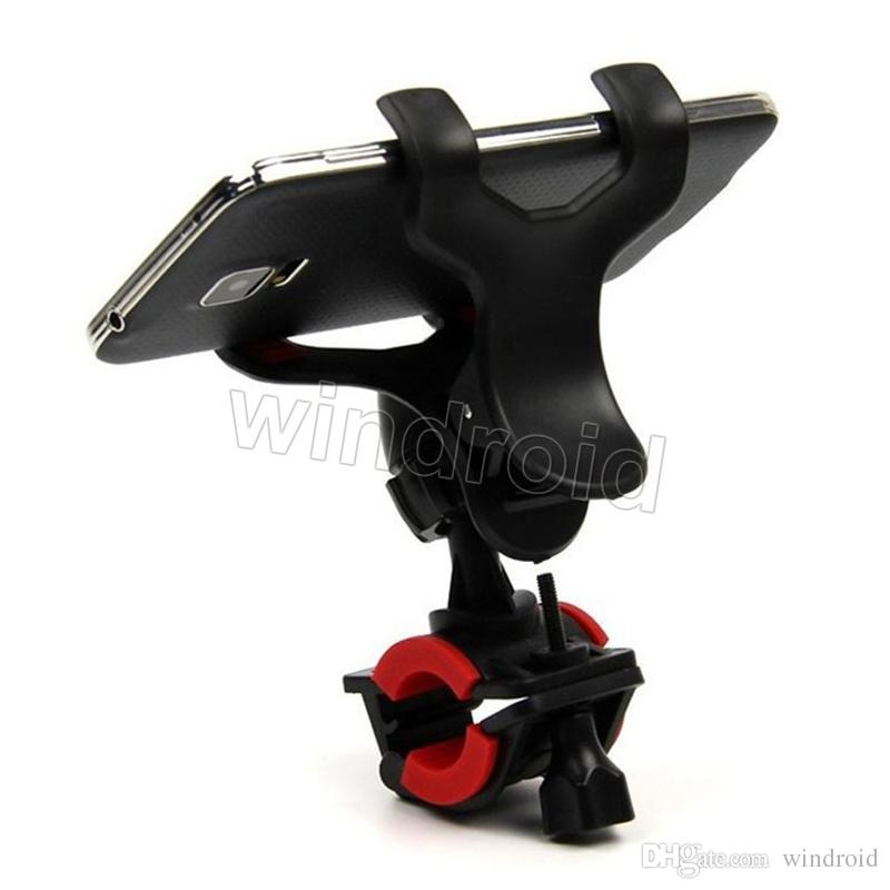 360 Degree Universal Bike Bicycle Handle Phone Mount Cradle Holder Cell Phone Support Case Motorcycle Handlebar For Cell Phone GPS cheap 300