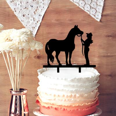 Rustic wedding silhouette cake topper chic cowboy and horse rustic wedding silhouette cake topper chic cowboy and horse country western cake topper for wedding decor rustic wedding cake topper wedding cake topper junglespirit Gallery