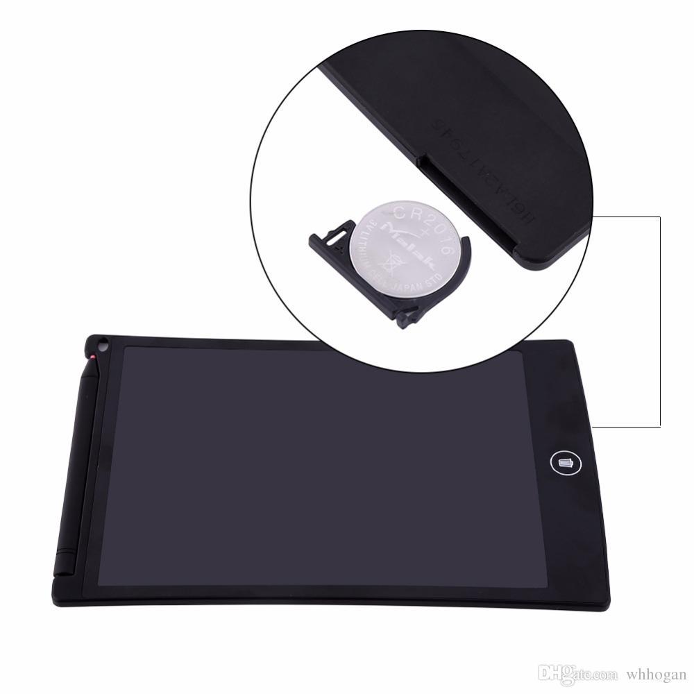 LCD Yazma Tablet Dijital Dijital Taşınabilir 8.5 Inç Çizim Tablet El Yazısı Pedleri Elektronik Tablet Kurulu Yetişkinler Çocuklar için Çocuk