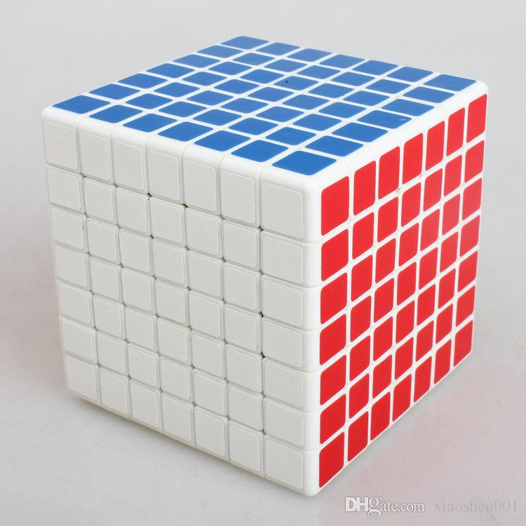 2016 NEW ShengShou 7x7x7 Magic Cube Professional PVC&Matte Stickers Cubo Magico Puzzle Speed Classic Toys Learning & Education Toy
