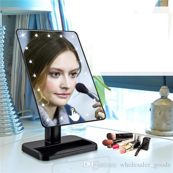 Led Lighted Mirror Bedroom Lighting Dresser Makeup Mirror