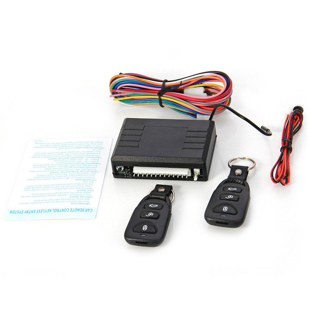 2018 12v Universal Car Remote Control Central Black Door Lock