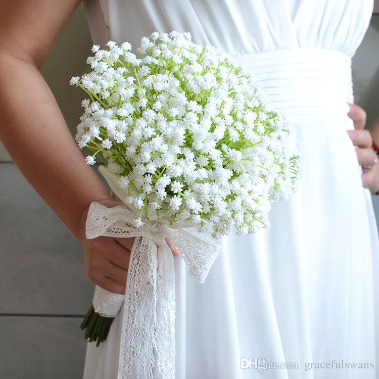Sky Stars Artificial Wedding Flowers Romantic Bridal Wedding Bouquet Party Decorations Wedding Accessories ramo de la boda