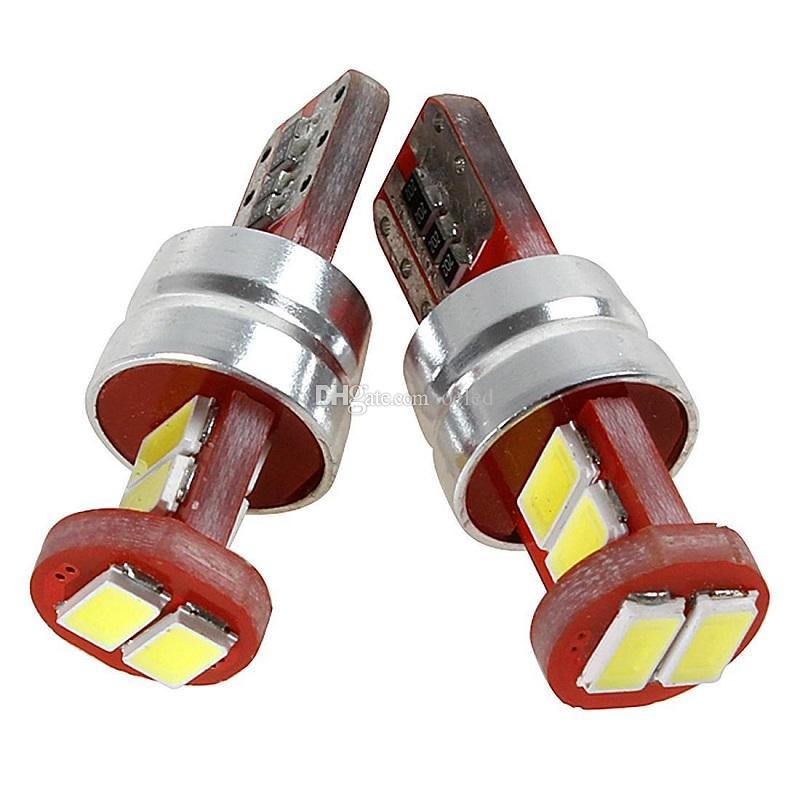 All'ingrosso-T10-5630 6SMD LED 180LM Veicolo Auto Super Bright White Decoding Lampada da lettura Lampadine CLT_0B5