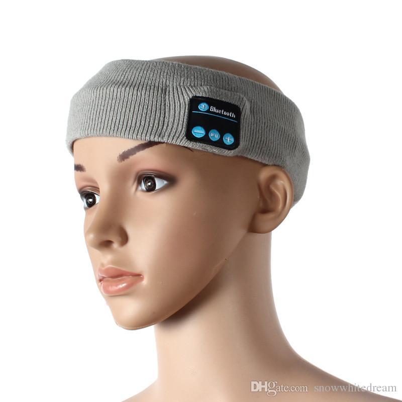 Bluetooth Musique Téléphone Sport Bandeau de sueur Bandeau Pour Vélo Courir Équitation Yoga Bandeau Bandeau Bande De Cheveux VS Bluetooth Chapeau