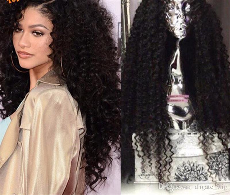 100% Naturel Cheveux Perruques Indien Lâche Vague Vierge Cheveux Avant de Lacet Perruque de Cheveux Humains Bébé Cheveux Pleine Dentelle Perruque Cheveux Naturels Délié