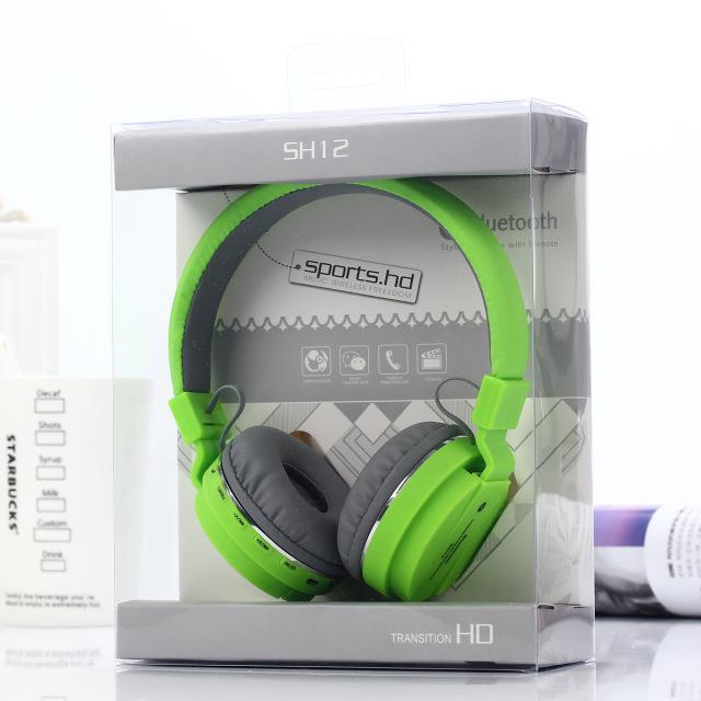 CALDO Molti produttori vendono riconoscere le cuffie wireless ripiegabili montate sulla testa, l'auricolare bluetooth inserisce le SCHEDE SH10