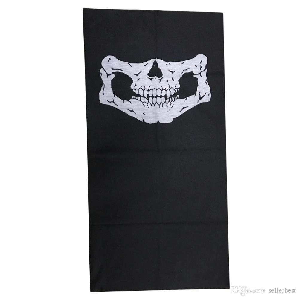 Высококачественный череп Balaclava традиционные лица маска маска Gator черный велосипед скейтборд капюшон костюм вечеринка головной убор