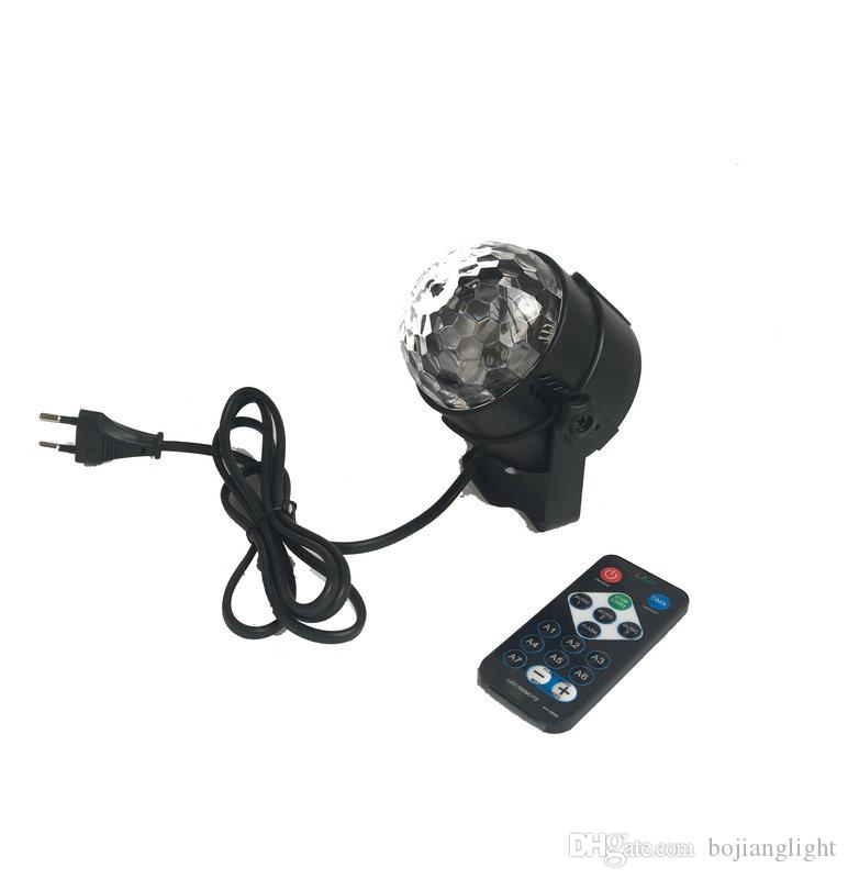 New Arrival RGBW Water Wave Light LED Magic Ball Stage Effect Light Party Disco Club DJ Light Mini Laser With Remote
