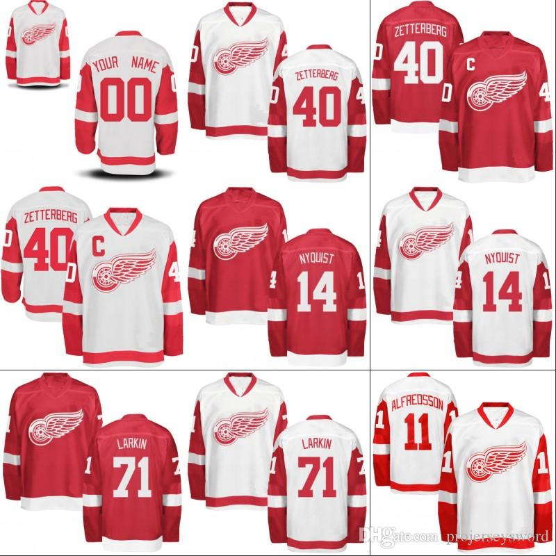 7ffc3d5fa30 ... free shipping youth kids detroit red wings jersey 13 pavel datsyuk 35  jimmy howard 55 niklas