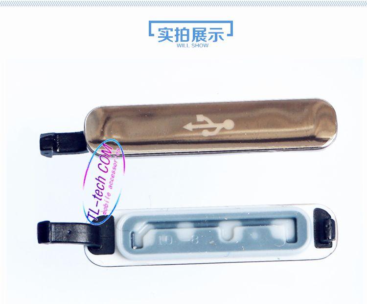 لسامسونج غالاكسي S5 G900 G900F G900T G900V G900H VS G900A G900P جديد أصلي شاحن USB ميناء الشحن قفص الاتهام للماء غطاء حالة التوصيل