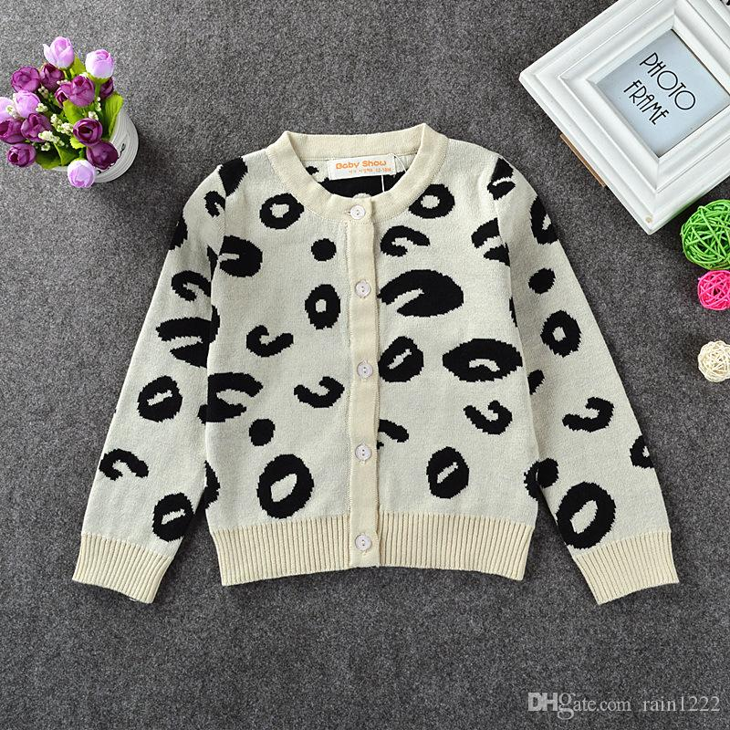 Ins New Autumn Winter Girls Cotton Sweaters Children White Warm ...