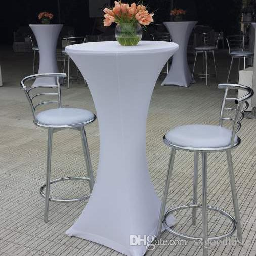 Wholesale Spandex Stretch Bistros Bar Party Table Covers 80x110cm