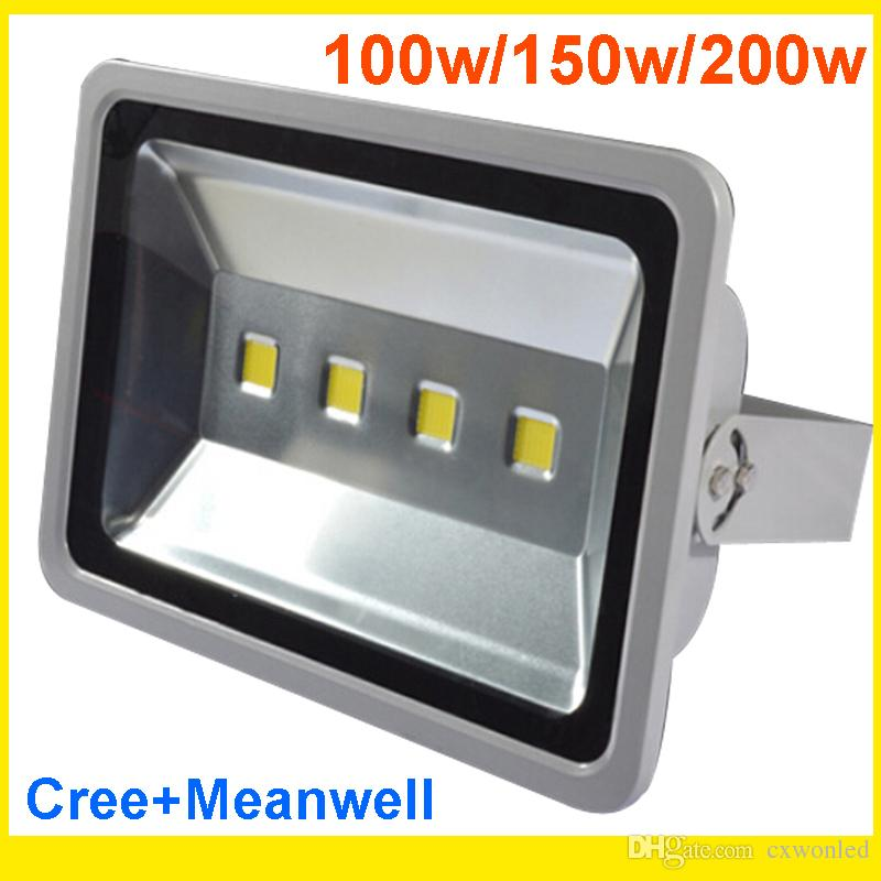Led Canopy Light Led Gas Station Light 200W Led Floodlights ip65 Waterproof Warranty 3 Years High Power Outdoor Waterproof Warm Cold White