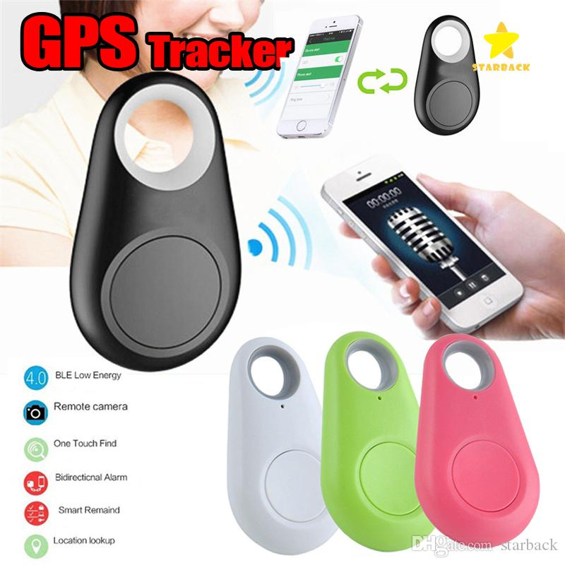 Wireless Bluetooth Anti-Lost GPS Tracker Alarm iTag Key Finder Voice  Recording Selfie Shutter For ios Android Smartphone with Retail Box