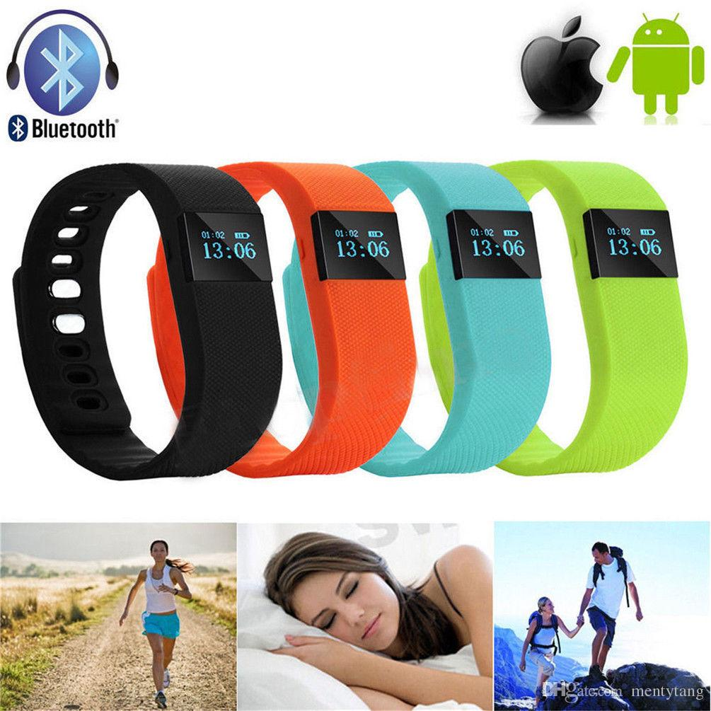 TW64 Smart Wristband Fitness Activity Tracker Bluetooth 4.0 Smartband Sport Bracelet Pedometer For IPHONE SAMSUNG