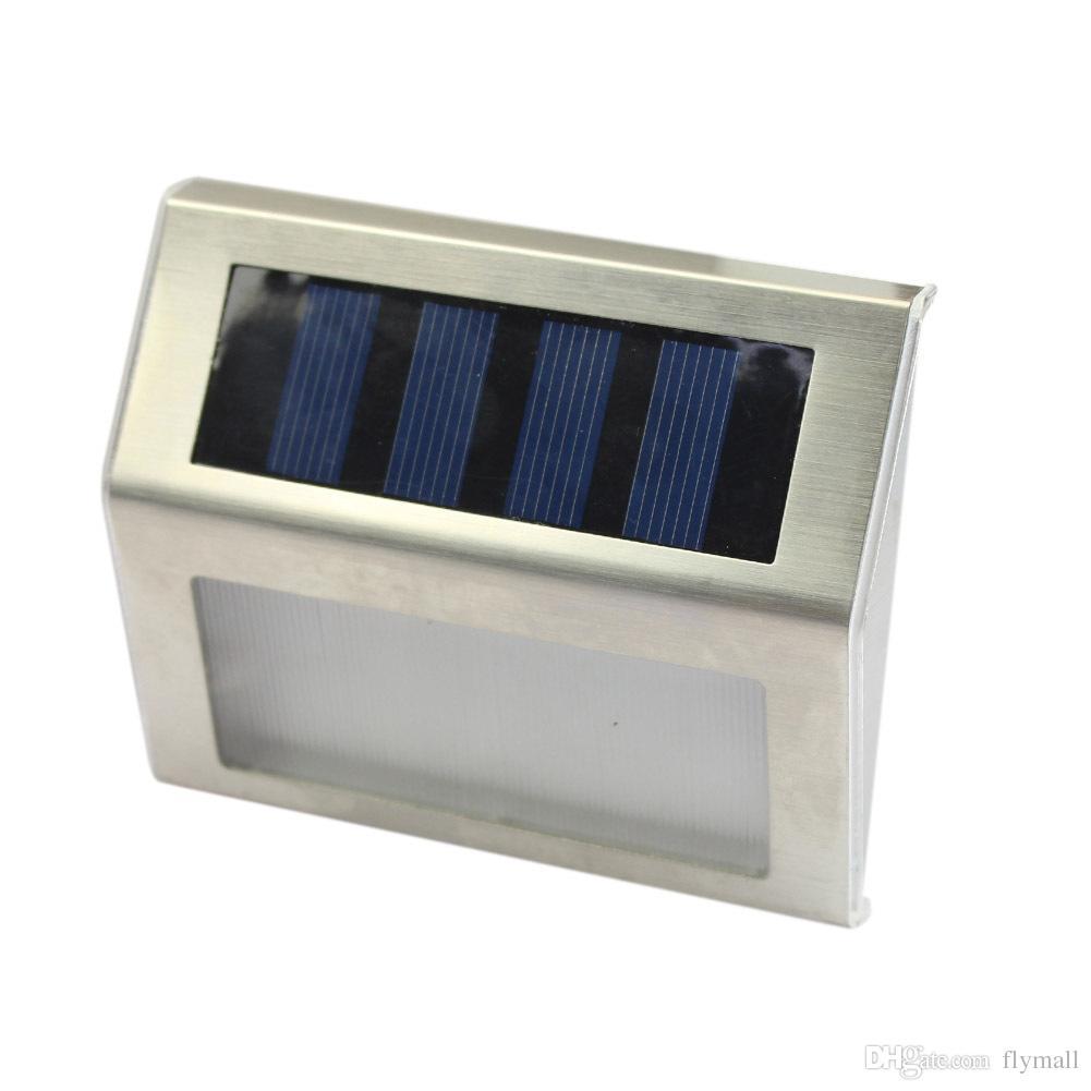 Upgraded Outdoor Solar Powered 3 LED Light Fence Garden Yard Wall Lamp Street Lighting Energy-saving Light LED Solar Lamp Led Floodlight