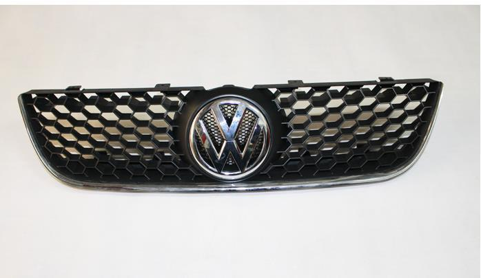 Sporty Honey Comb Front Grille With Chrome Gti Edge For Vw Polo N Online With   Piece On Cunxius Store Dhgate Com