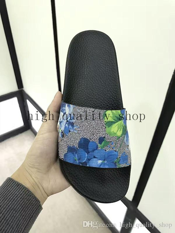 c58d406d3231ec 2017 Mens And Women New Fashion Tiger Slippers Boys  Girls Tianooms Flower  Slide Comfortable Unisex Outdoor Beach Flip Flops Size 36 45 Wedges Shoes  Leather ...