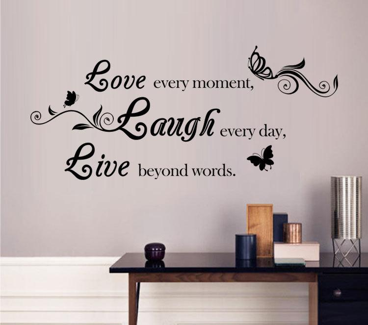 Hot Sale Live Laugh Love Encouraging Quote Poem Art Wall Sticker Decal Home Decor  Wall Decals Stickers Wall Decals Tree From Billshuiping, $2.02  Dhgate.Com Part 41
