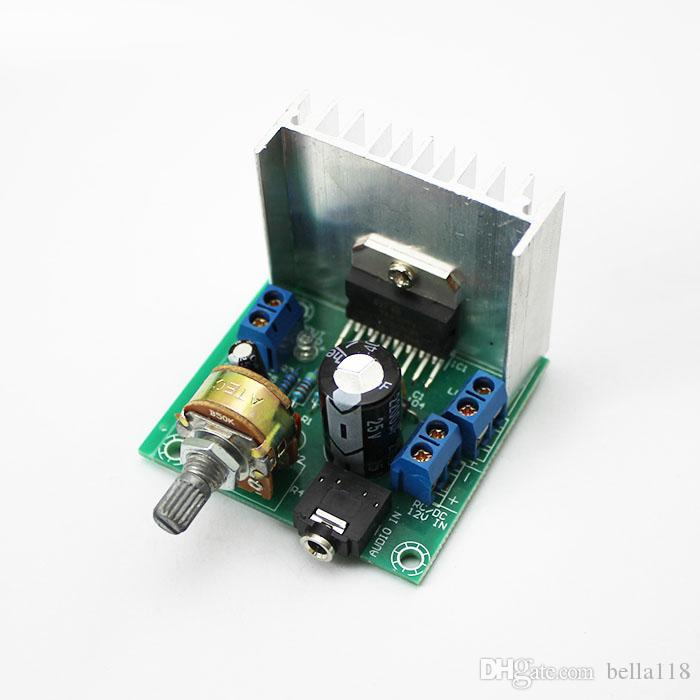 TDA7297 Version B 15W Digital Audio Amplifier Board Dual-Channel AC/DC 12V