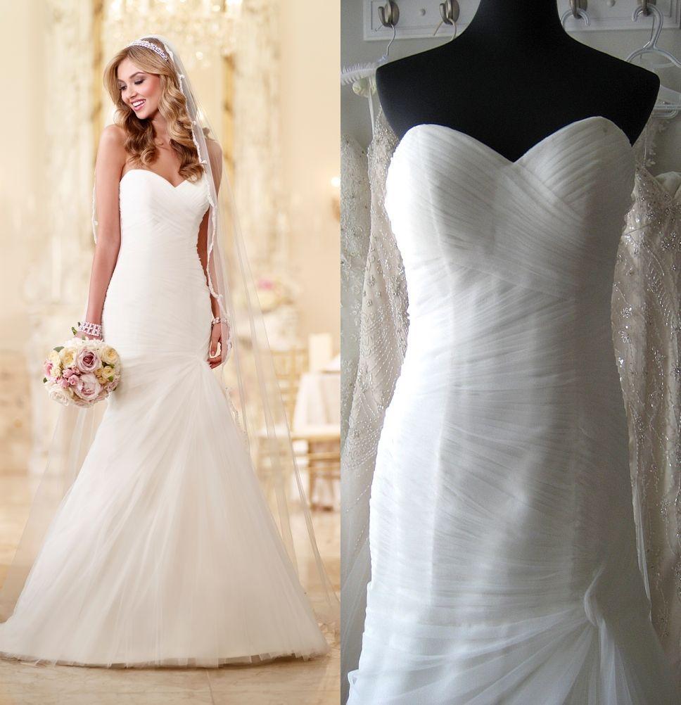 Real Brides Wearing Stella York: 2016 Stella York Wedding Dresses China With Strapless
