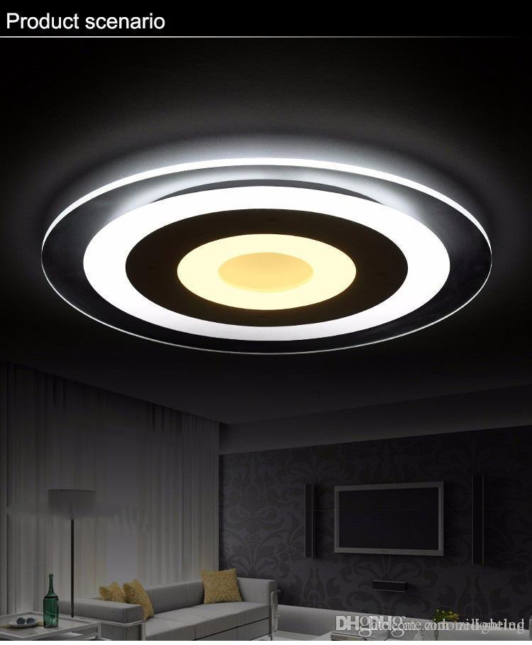 Led Modern Iron Acrylic Minimalism Led Lamp.led Light.ceiling Lights.led Ceiling Light Ceiling Lights Ceiling Lamp For Bedroom Dinning Room