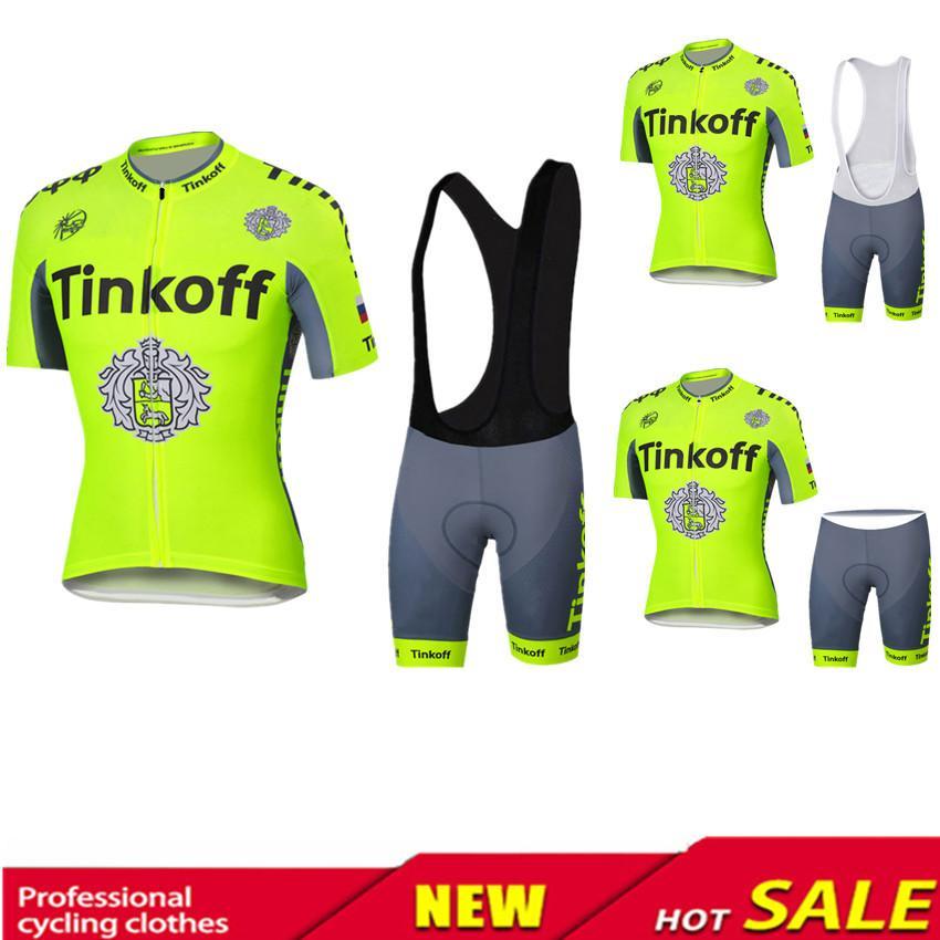 ! Tinkoff Saxo Bank Cycling Jersey Ropa Clismo Hombre Abbigliamento  Ciclismo Men s Cycling Clothing Mtb Bike Maillot Ciclismo High Quality  Clothing Rec ... 14c7cd08e