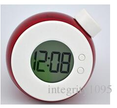 Energia Eco-Amigável Energia Rodada Relógio Digital Rodada