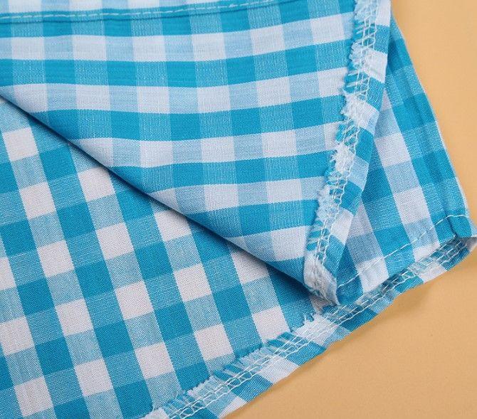 Erkek bebek giysileri ekose gömlek + pantolon 2 adet beyefendi kıyafet çocuklar nedensel eğlence setleri çocuklar pamuk bebek setleri üst + pantolon 0-8Y 1 adet paketi CQZ052