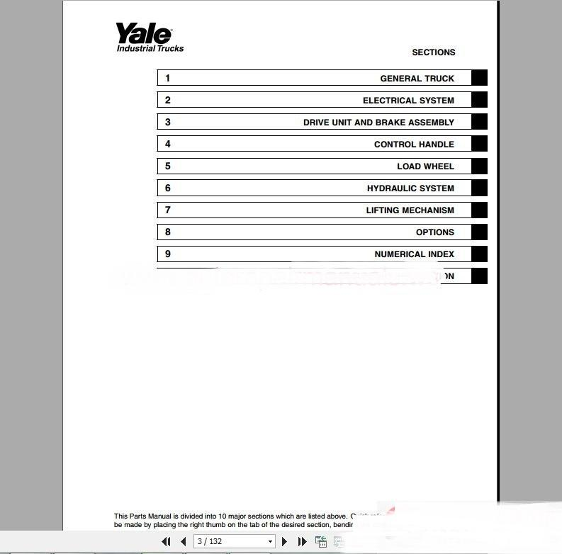 yale forklift full set pdf parts manuals auto tester tool auto rh dhgate com Yale Forklift Enclosures Yale Forklift Enclosures