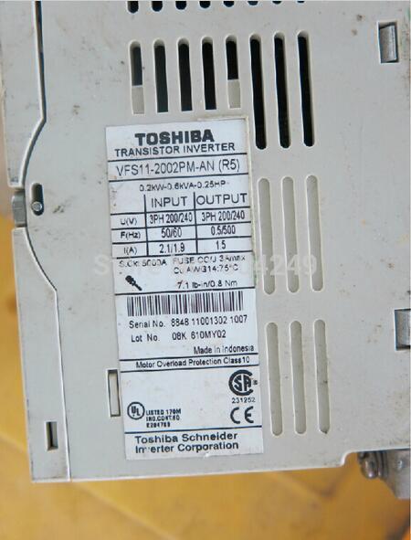 VFS11-2002PM-AN R5 220V 0,2KW