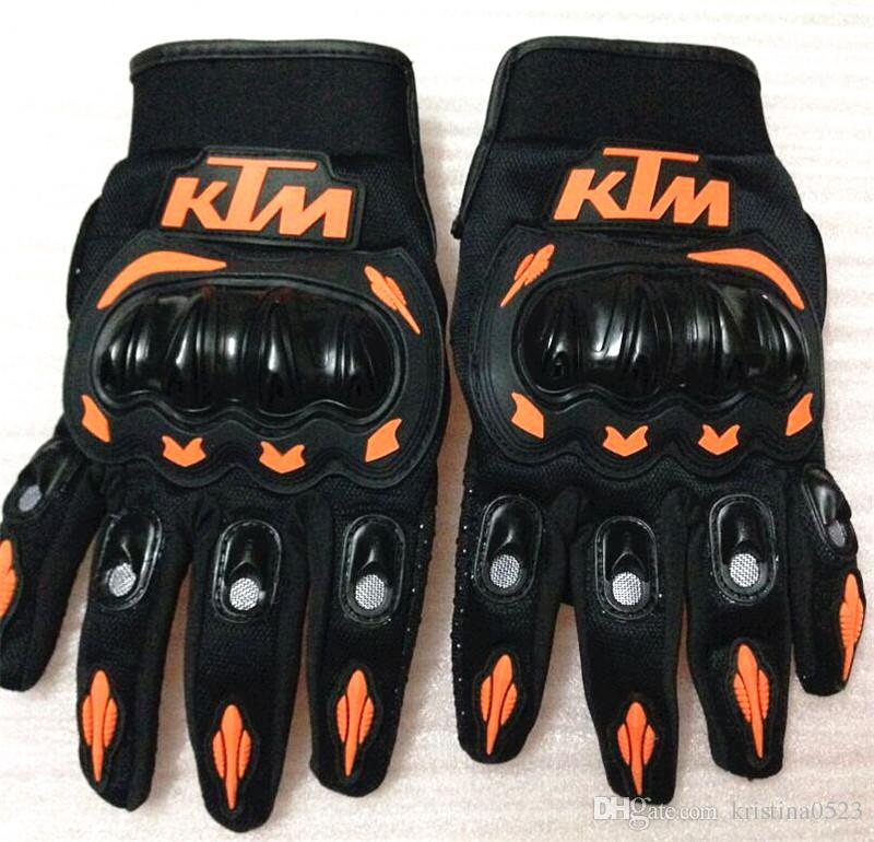 KTM Motorcycle gloves retro Moto racing gloves Men's Motocross full finger gloves M/L/XL/XXL