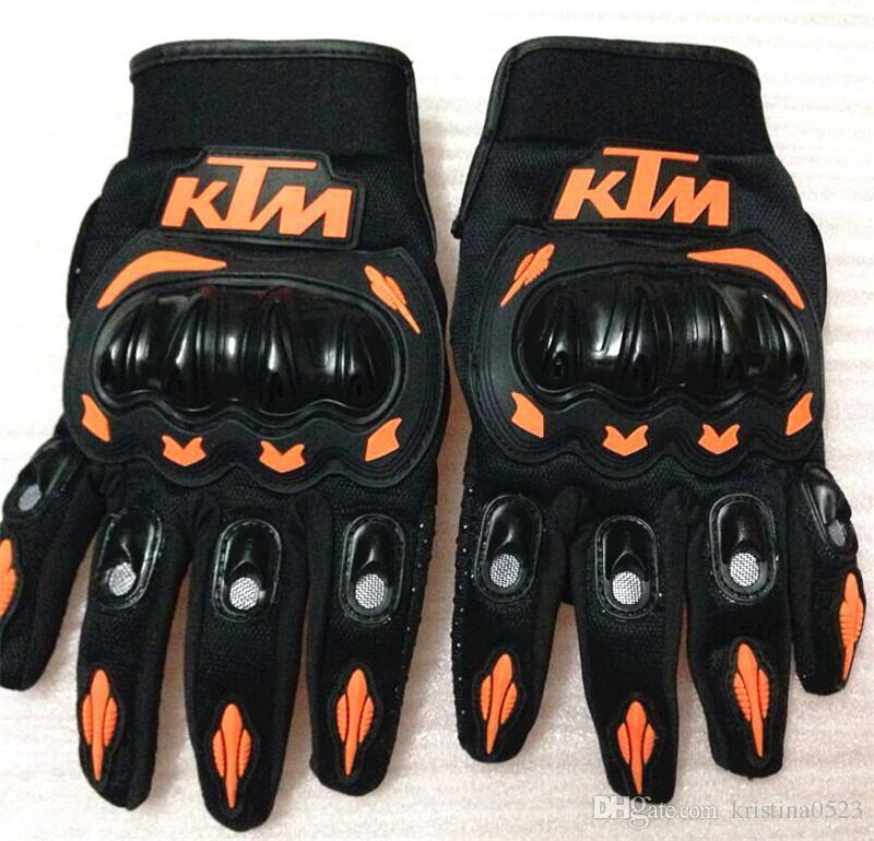 Vente chaude Gants de moto KTM Gants de course moto Gants complets de motocross pour hommes M / L / XL / XXL