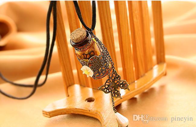 زجاجة الروائح من الضروري النفط الناشر قلادة المنجد قلادة من المجوهرات و24