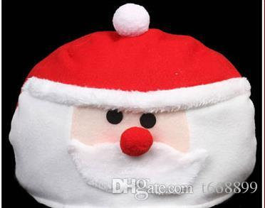 Christmas decorations for Christmas gift very lovely and cute take it home Santa Claus hat adult children hat