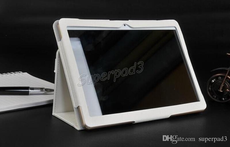 Frete Grátis MTK6580 9,6 Polegada Android Phablet 3G 1280 * 800 16 GB Telefonema Tablet SIM SIM Quad Core IPS Tela de Couro Caso Livre
