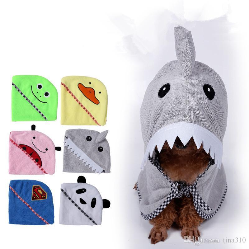 أزياء الحيوانات الأليفة سلسلة الكلب الاستحمام المنتجات الكلب منشفة ستوكات 100% سوبر لينة ماصة الحيوانات الأليفة منشفة 4 أحجام 6 ألوان IC797